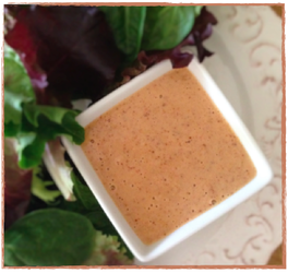 Almond Ginger Salad Dressing