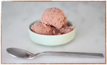 Vegan Choc Orange Ice Cream