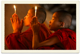 Monks In Prayer